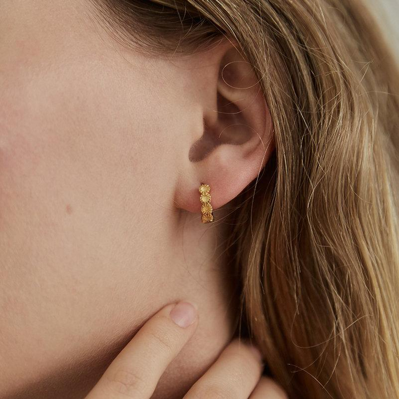 Brie Leon - Row Sleepers - Gold - NZ Stockist - Paper Plane - Jewellery