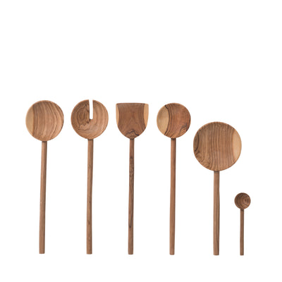 Asili Olive Wood Serving Spoon - Citta Design - NZ Stockist - Paper Plane - Shop Online Now - Kitchen Utensils
