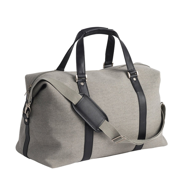 Canvas Weekender Bag  - Grey - Citta