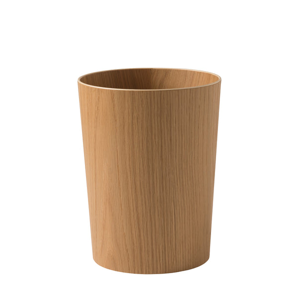 Oku Wooden Rubbish Bin - Oak - Citta Design - Paper Plane - NZ Stockist - Bin - Organising