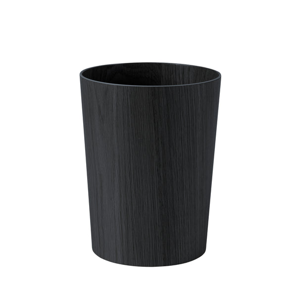Oku Wooden Rubbish Bin - Black - Citta Design - Paper Plane - NZ Stockist - Bin - Organising
