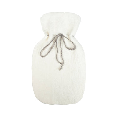 Merino Wool Hot Water Bottle Cover - Natural
