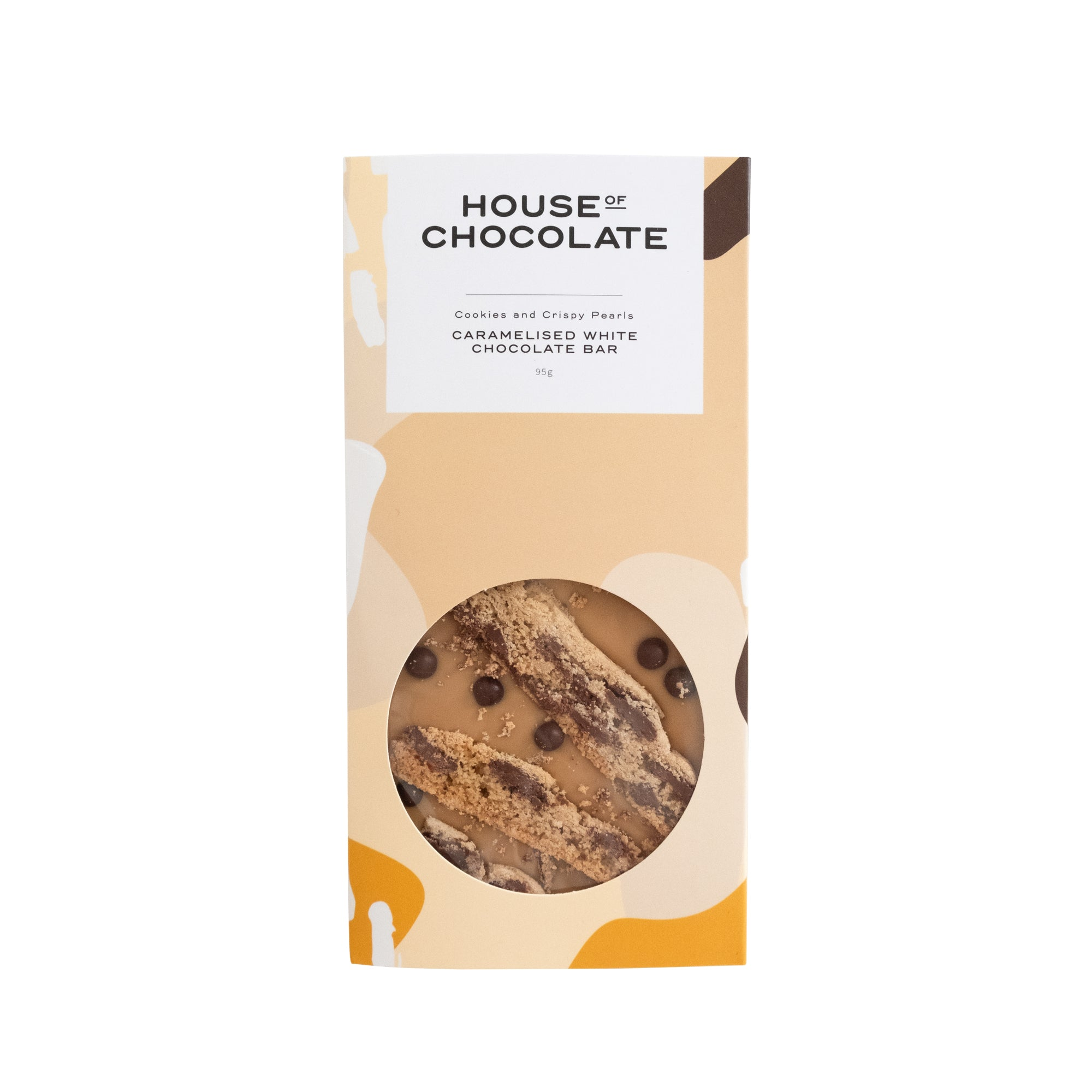 House of Chocolate - Caramelised White Chocolate, Cookies & Pearls Bar