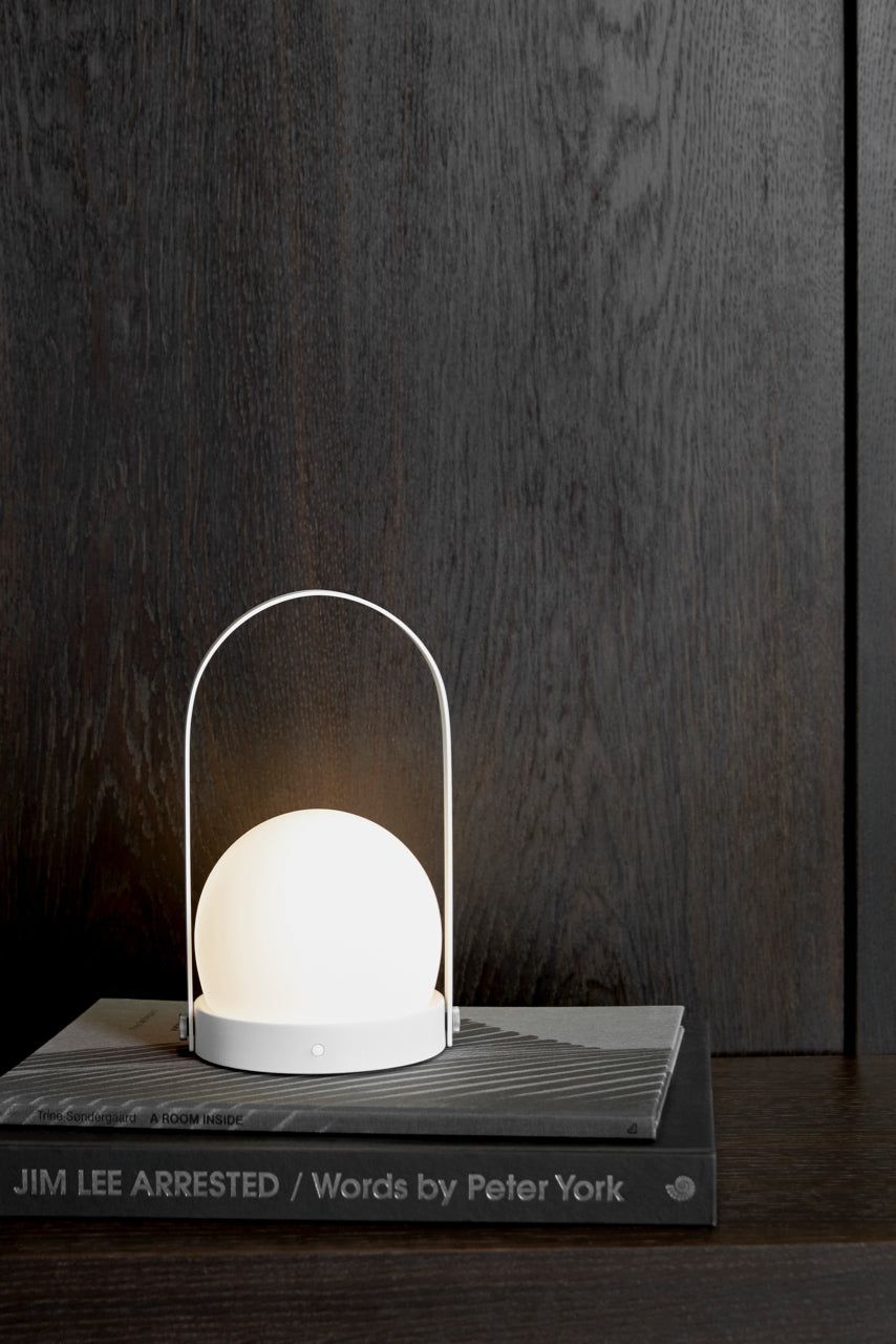 Menu Carrie LED Lamp - White - Tauranga Stockist - Shop Online Now - Paper Plane - Lighting and Furniture