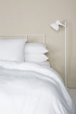 Linen Pillowcase - White Linen bedding - Citta - Bedroom Interior styling - NZ