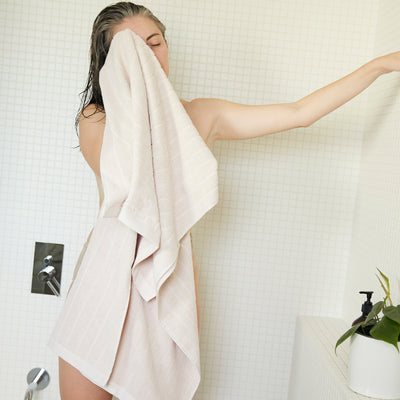 Baina - Organic Cotton Bath Towel - Cove - Paper Plane - Mt Maunganui Stockist