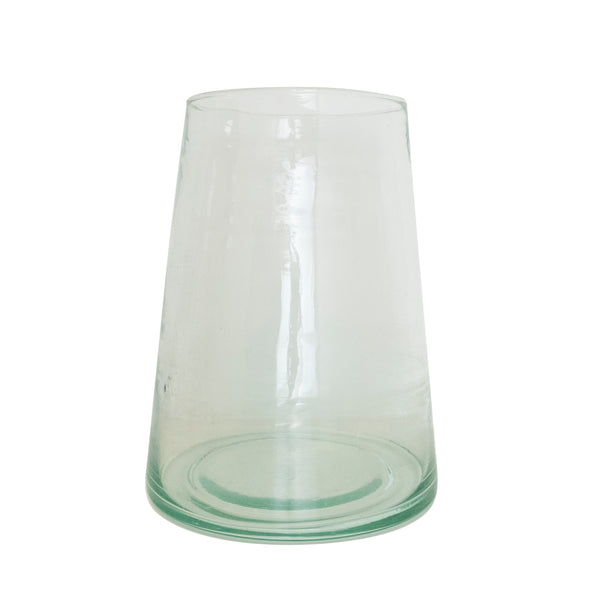 Beldi Tapered Glass Vase - Paper Plane - Mt Maunganui Stockist