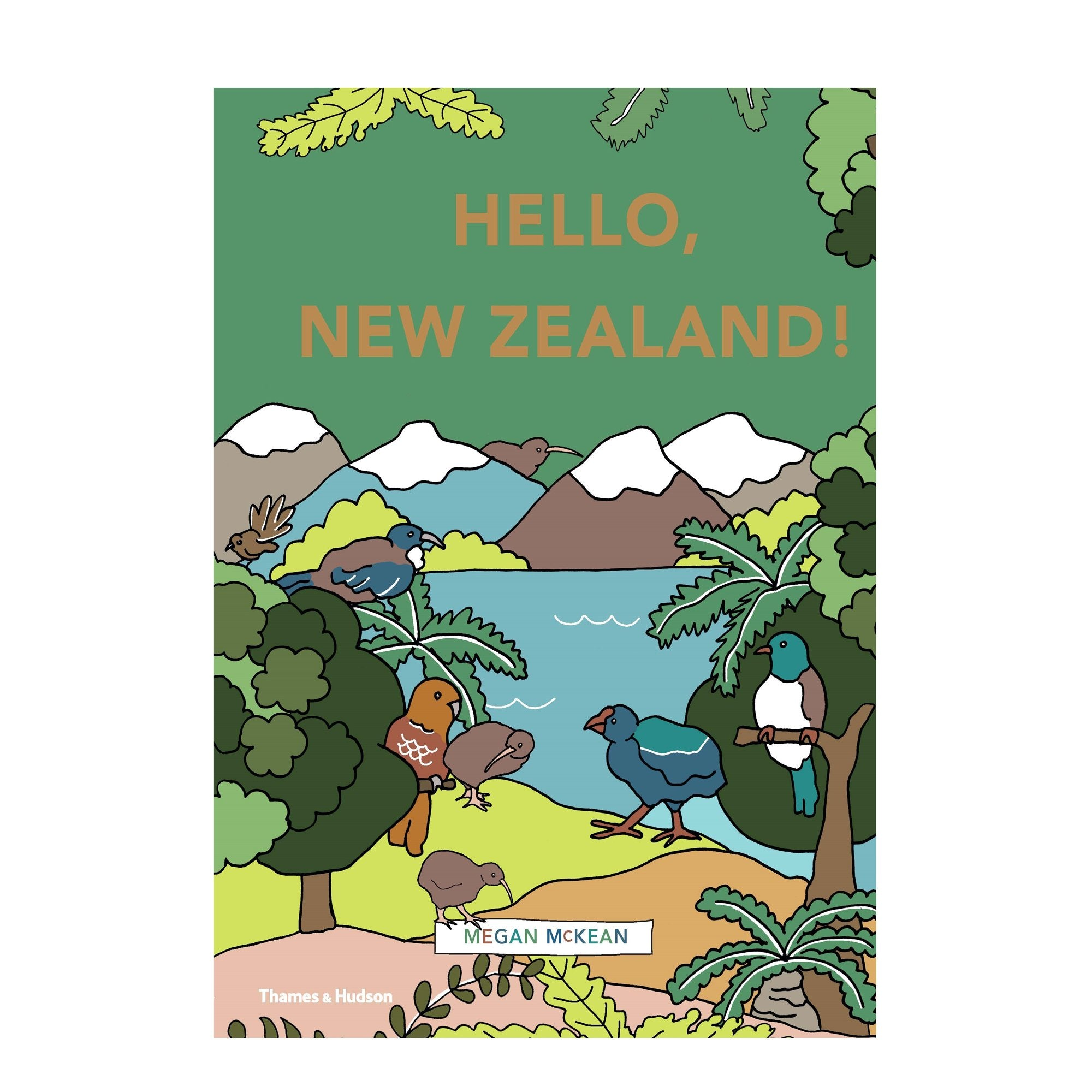 Paper Plane - Books - Hello, New Zealand - Kids - Mt Maunganui Stockist