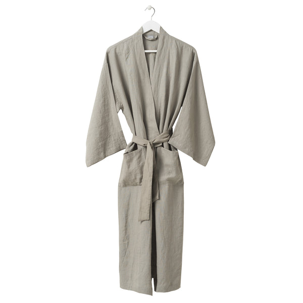 Linen Robe - Puddle