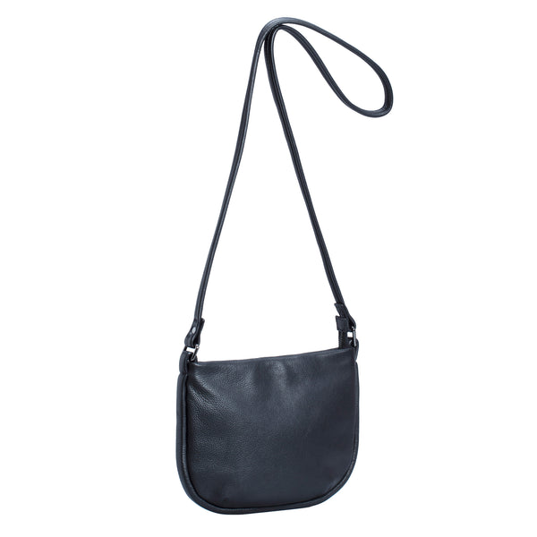 Karia Small Leather Bag - Black - Elk - Paper Plane Store - Tauranga