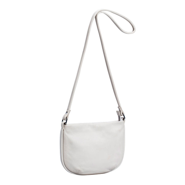 Karia Small Leather Bag - Blanc - Elk - Tauranga - Paper Plane Store