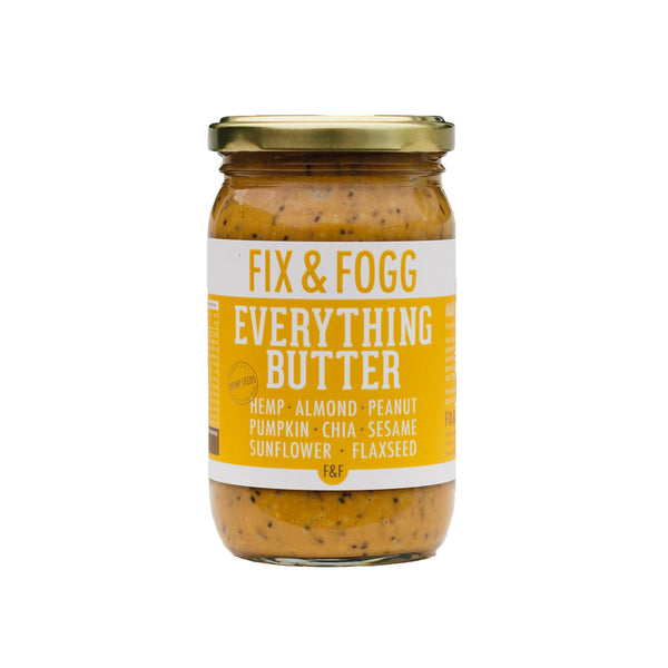 Fix & Fogg Peanut Butter - Everything Butter - Paper Plane - NZ Stockist - Shop Online Now - Gifts - Health Food