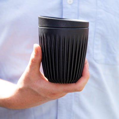 Huskee Reusable Cups - Charcoal