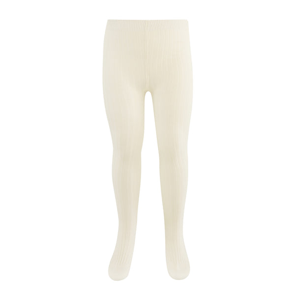 Paper Plane - Jamie Kay - Ribbed Tights - Milk - $14.99NZD