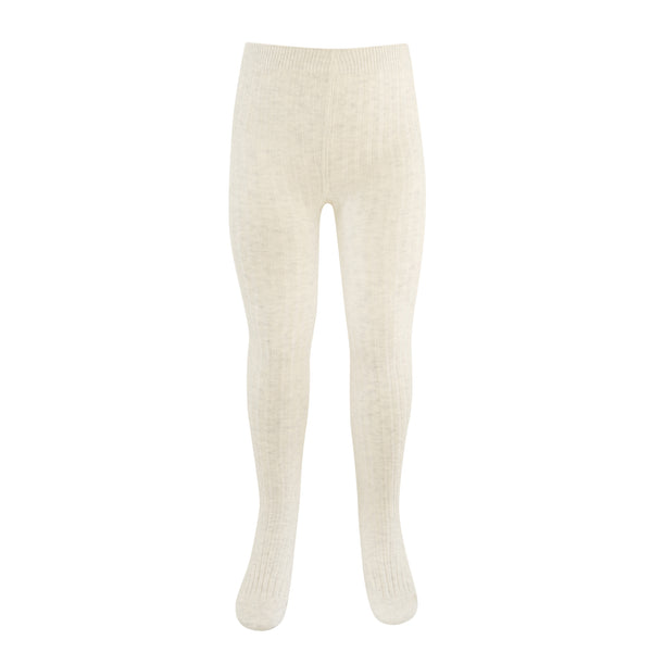 Paper Plane - Jamie Kay - Ribbed Tights - Oatmeal - $14.99NZD