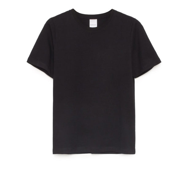 Kowtow - Building Block Classic Tee - Black - Paper Plane - Mount Maunganui