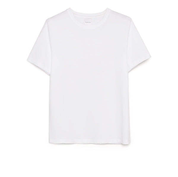 Kowtow - Building Block Classic Tee - White - Paper Plane - Mount Maunganui