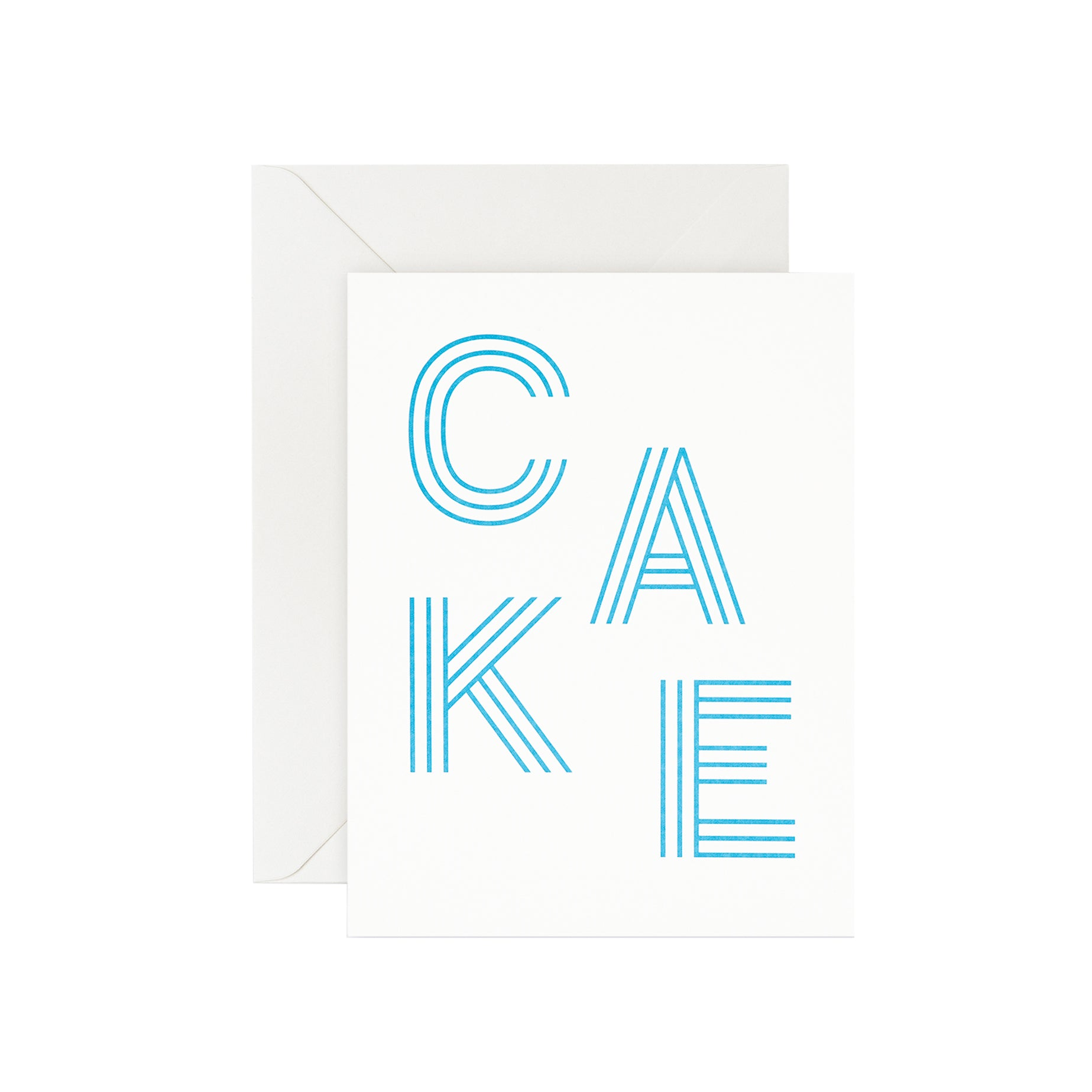Card - Cake Stripe