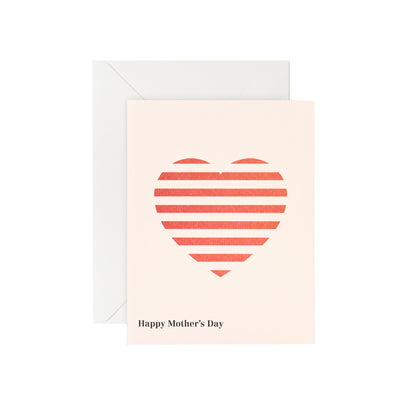 Card - Mother's Day Heart