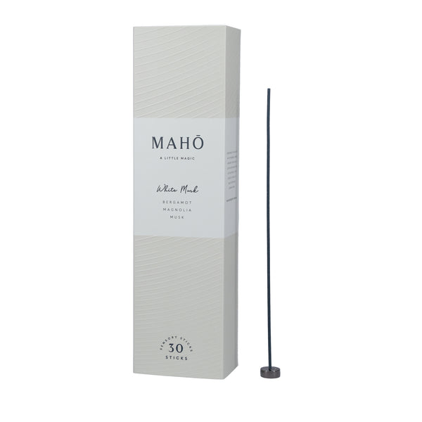 Maho Sensory Sticks Incense - White Musk - Paper Plane - NZ Stockist - Shop Online