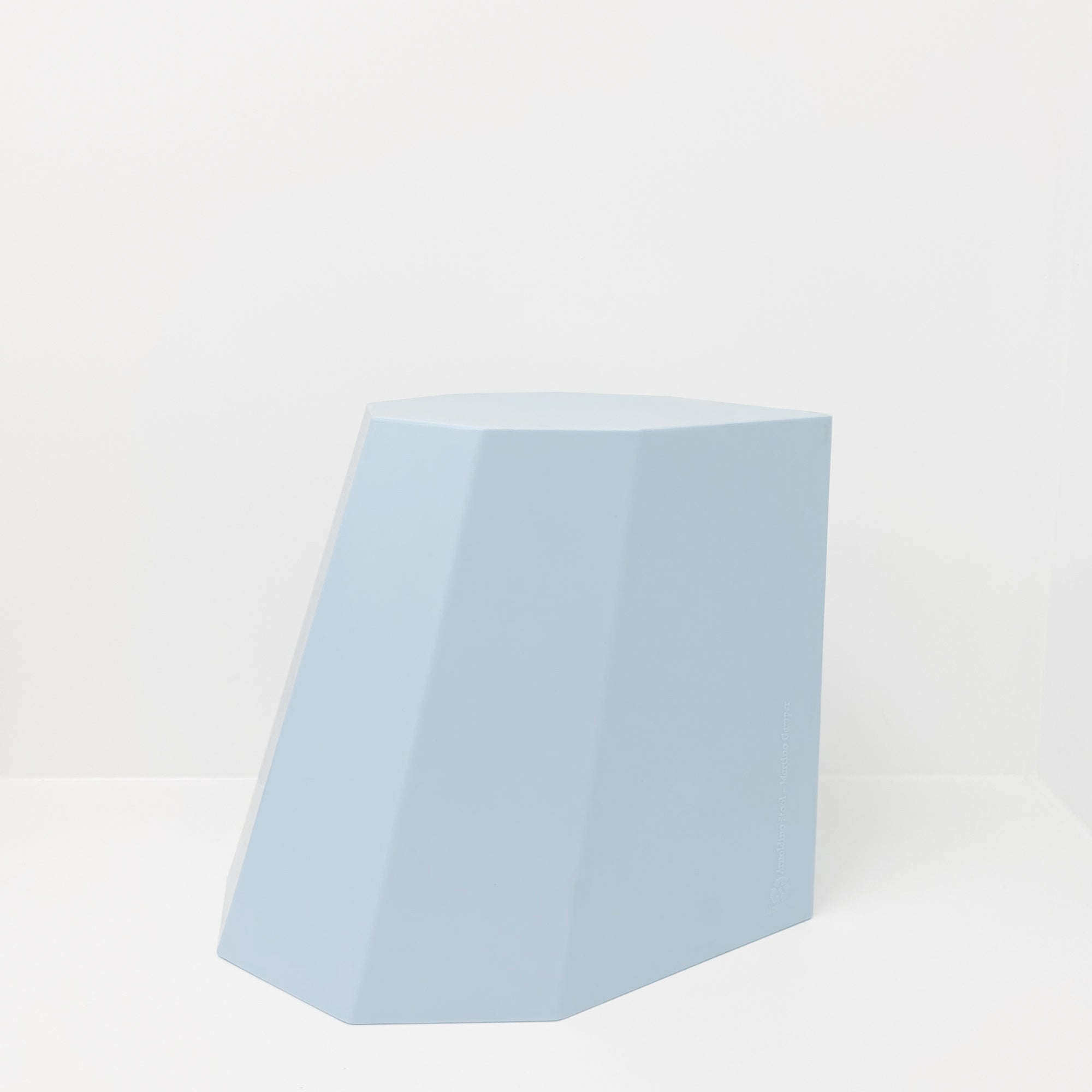 Martino Gamper Arnoldino Stool - Light Blue - Paper Plane - Mount Maunganui Stockist