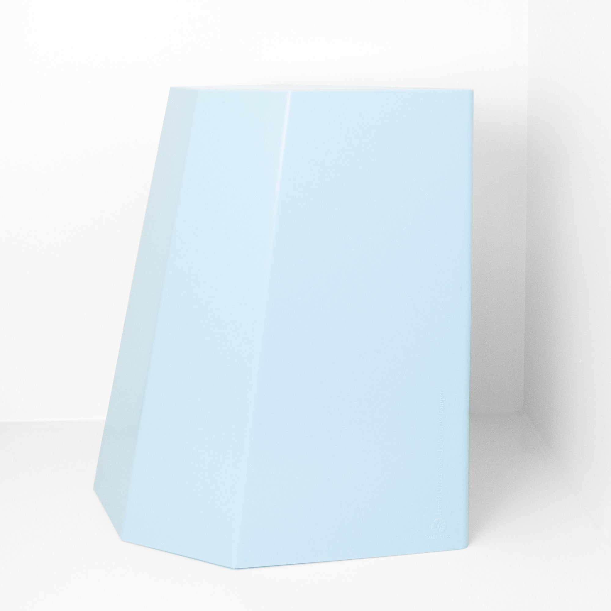 Martino Gamper Stool - Light Blue - Paper Plane - Mt Maunganui Stockist