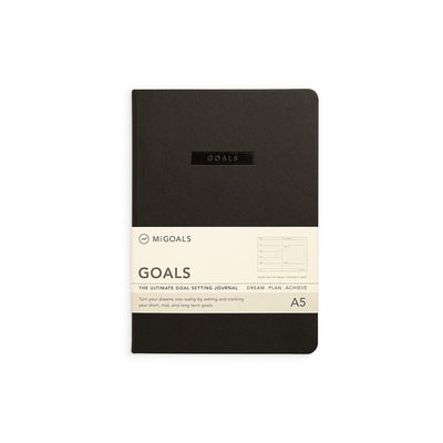 Goals Journal - Black