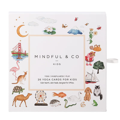 Yoga Flash Cards - MIndful & Co Kids - Mount Maunganui Stockist