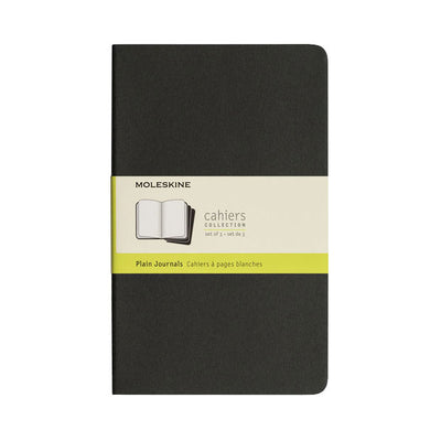 Moleskine Cahier Sets - Black