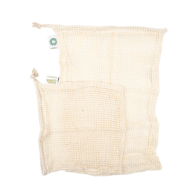 Organic Cotton Produce Bags - NZ Stockist - Paper Plane - Zero Waste Living