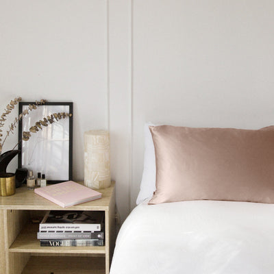 Silk Beauty Pillow - Rose - Paper Plane - Mt Maunganui Stockist