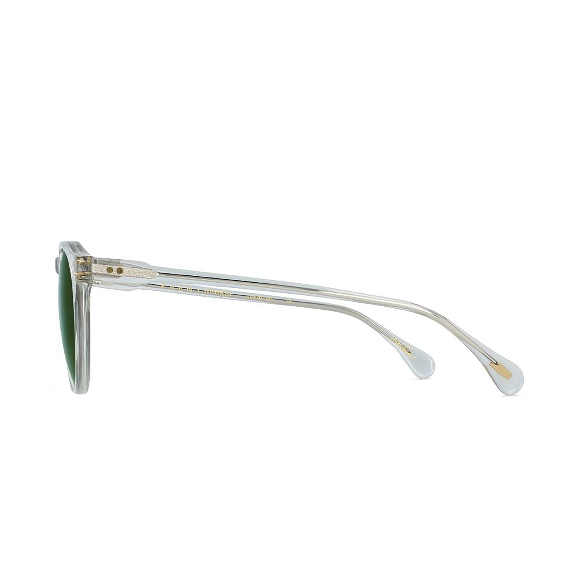 RAEN - Remmy Sunglasses - Fog Crystal / Bottle Green - Mt Maunganui Stockist - Paper Plane