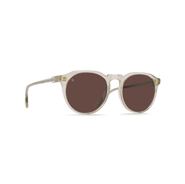 RAEN - Remmy Sunglasses - Crystal / Plum Brown
