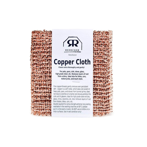 Copper Cleaning Cloth - Redecker - Paper Plane - Mt Maunganui Stockist