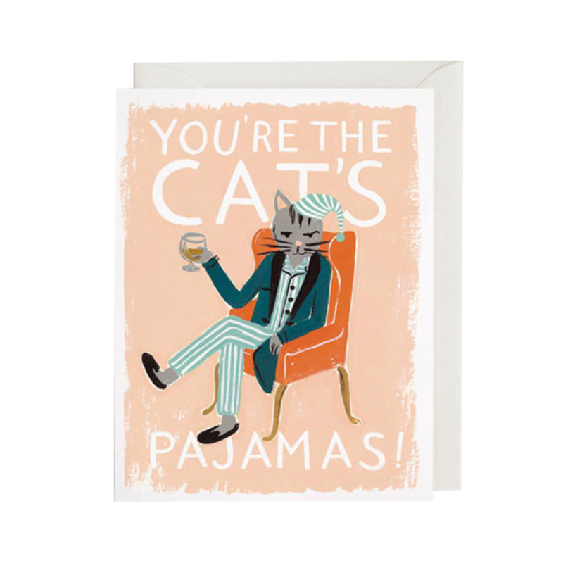Card - You're the Cat's Pajamas - Rifle Paper - Paper Plane