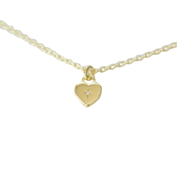 Sophie - Sweetheart Necklace - Gold