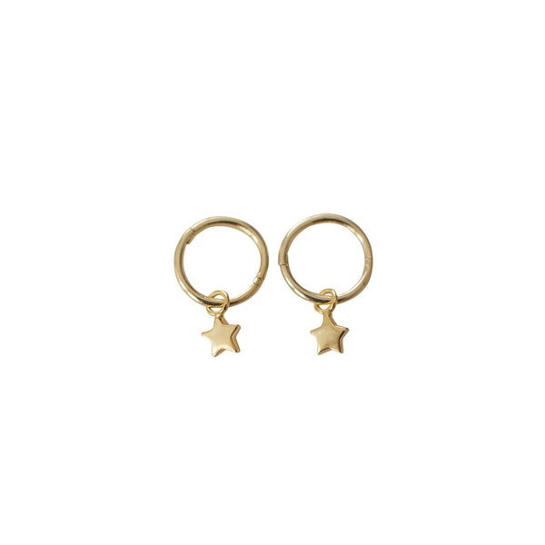 Sophie - Twinkle Sleeper Earrings - Gold - Paper Plane