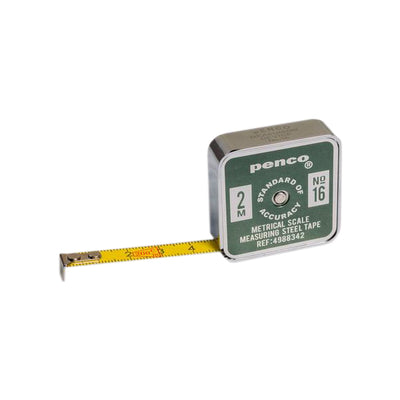 Penco 2m Pocket Tape Measure - Khaki - NZ Stockist - Paper Plane