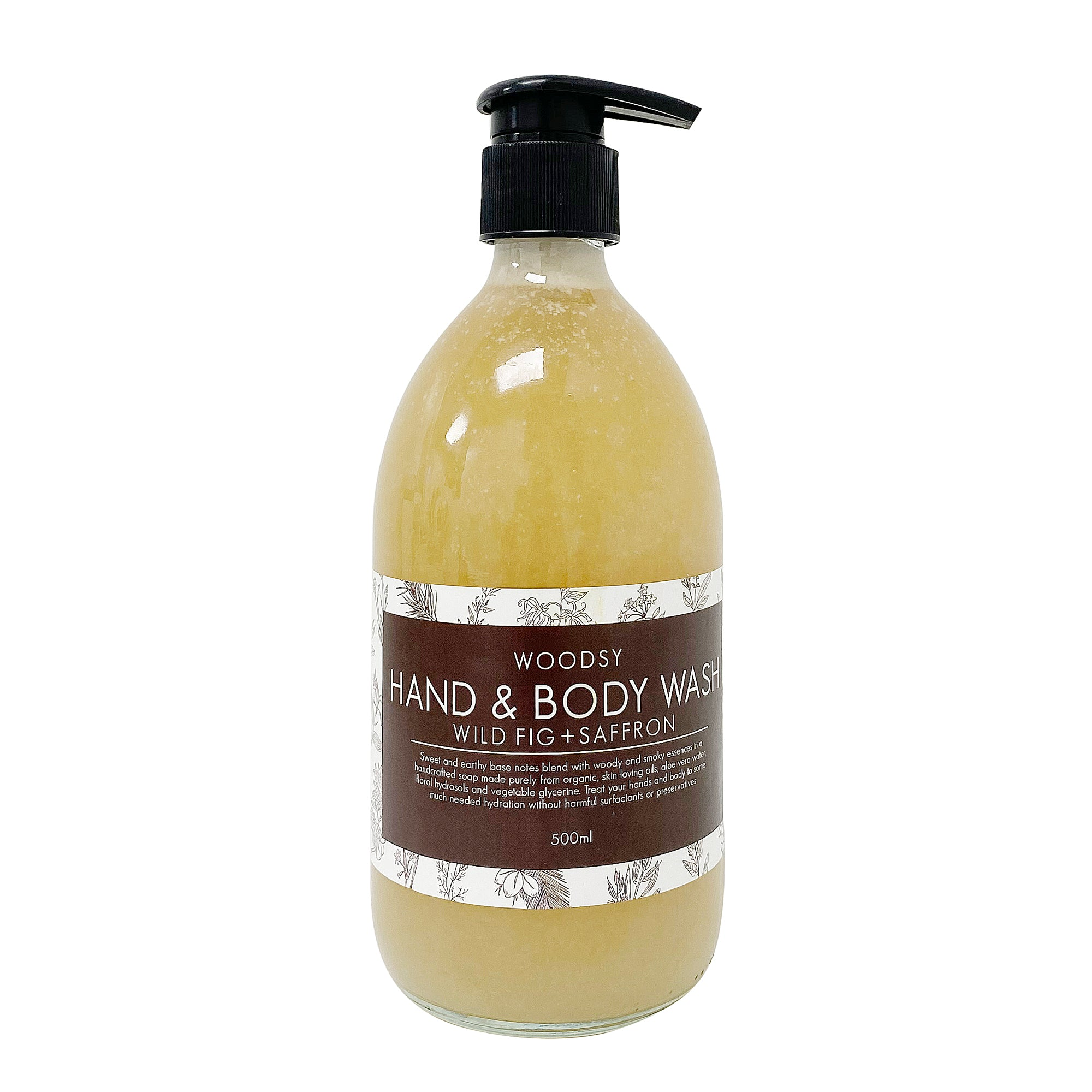 Hand & Body Wash - Wild Fig & Saffron - Paper Plane - Woodsy - Mt Maunganui Store