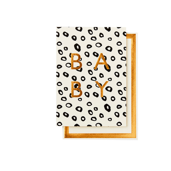 Card - Baby Leopard - Paper Plane - Gift Store - Mt Maunganui Stockist