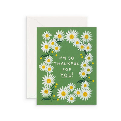 Card - Thankful For You Daisies