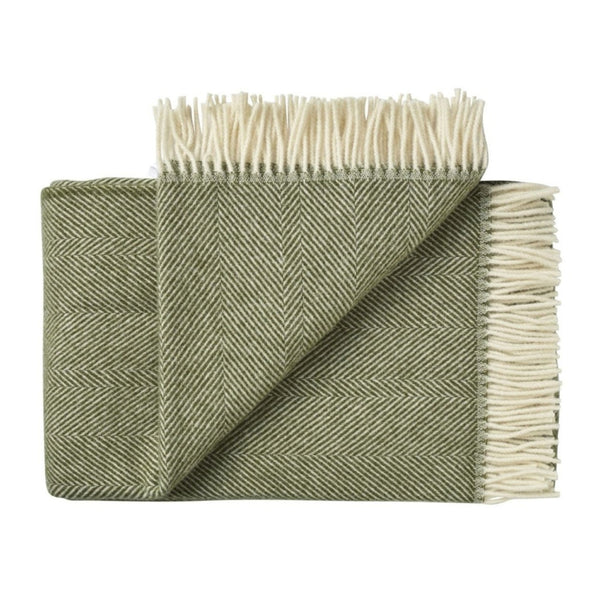 NZ Lambswool Throw - Lindis Forest - Weave Home