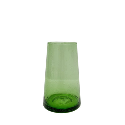 Beldi - Green Wine Glasses - Tapered Glasses - Paper Plane - Tauranga Stockist - Shop Online Now