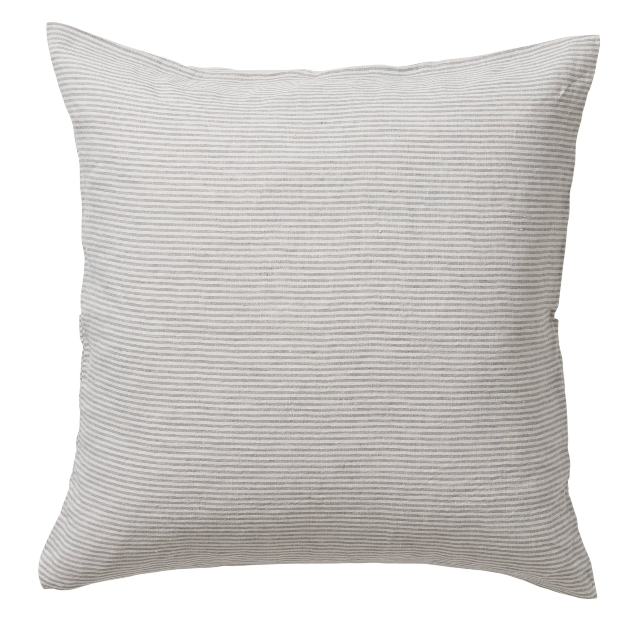 Sove Linen Euro Pillowcase - Stripe