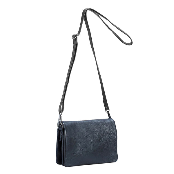 Innset Leather Bag - Black - Paper Plane - Mt Maunganui Stockist