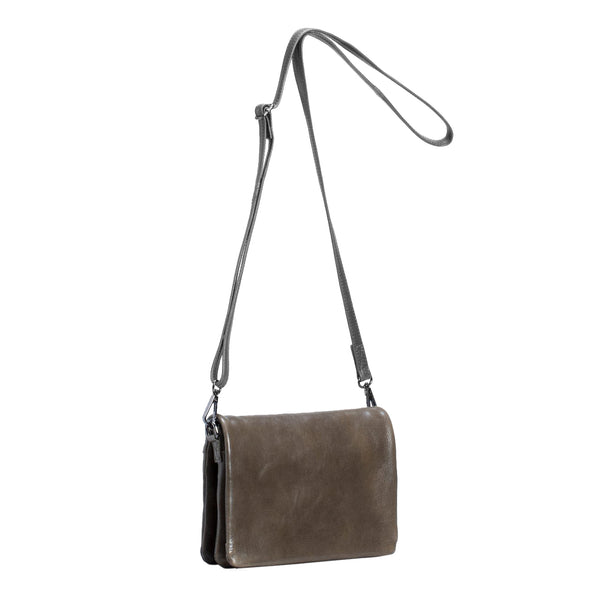 Innset Leather Bag - Olive - Paper Plane - Elk - Mt Maunganui Stockist