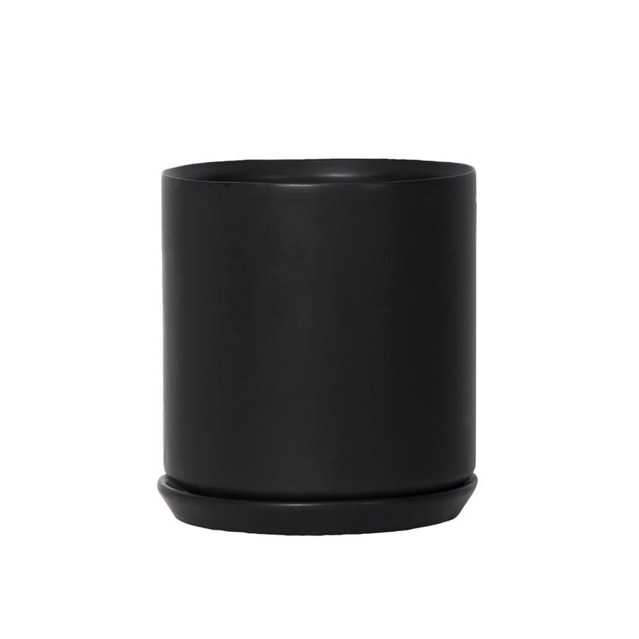 Stoneware Planter - Black