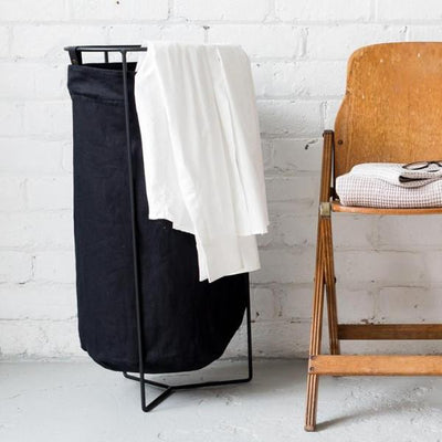 Laundry Baskets - Black - Mavis & Osborn - NZ Stockist - Paper Plane