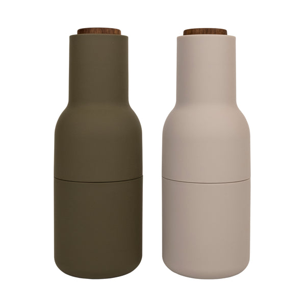 Menu Salt + Pepper Grinders - Beige/Green
