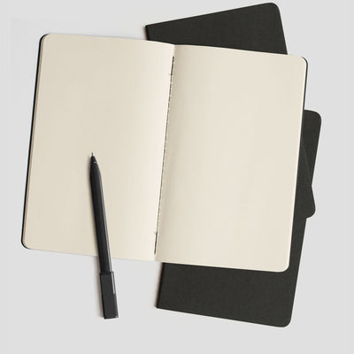 Moleskine Cahier Sets - Black - NZ Stockist - Paper Plane - Stationery - Moleskine Stockist